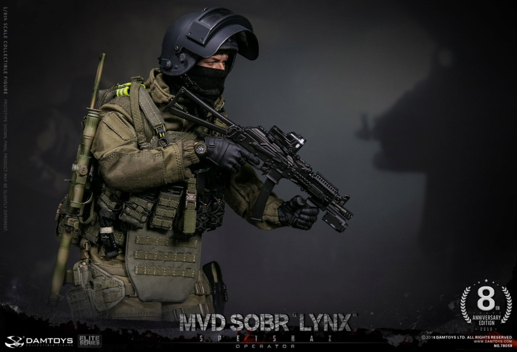 NEW PRODUCT:  DAMTOYS 8th Anniversary Edition: 1/6 RUSSIAN SPETSNAZ MVD SOBR LYNX (78059) 13432911