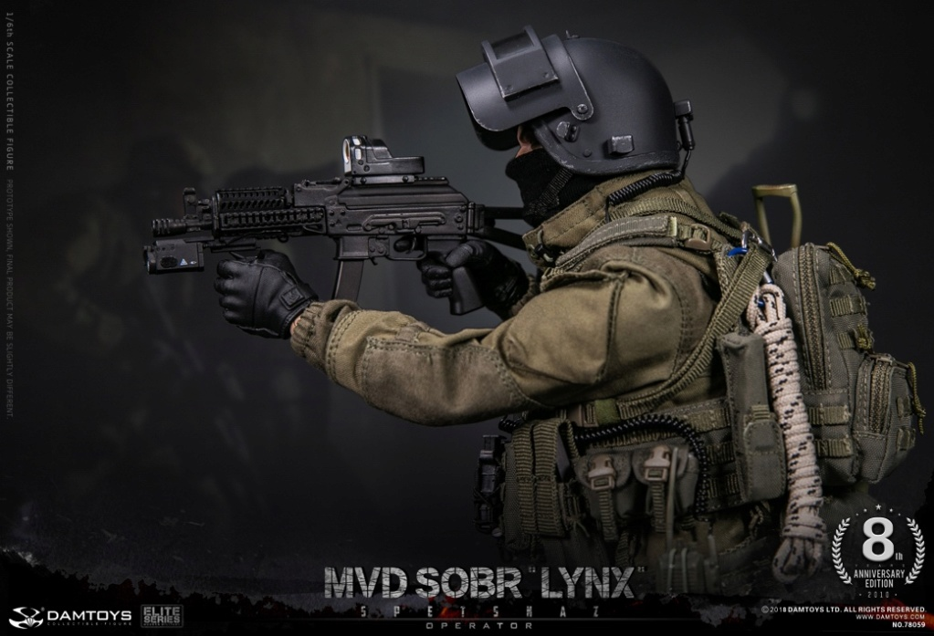 NEW PRODUCT:  DAMTOYS 8th Anniversary Edition: 1/6 RUSSIAN SPETSNAZ MVD SOBR LYNX (78059) 13433111