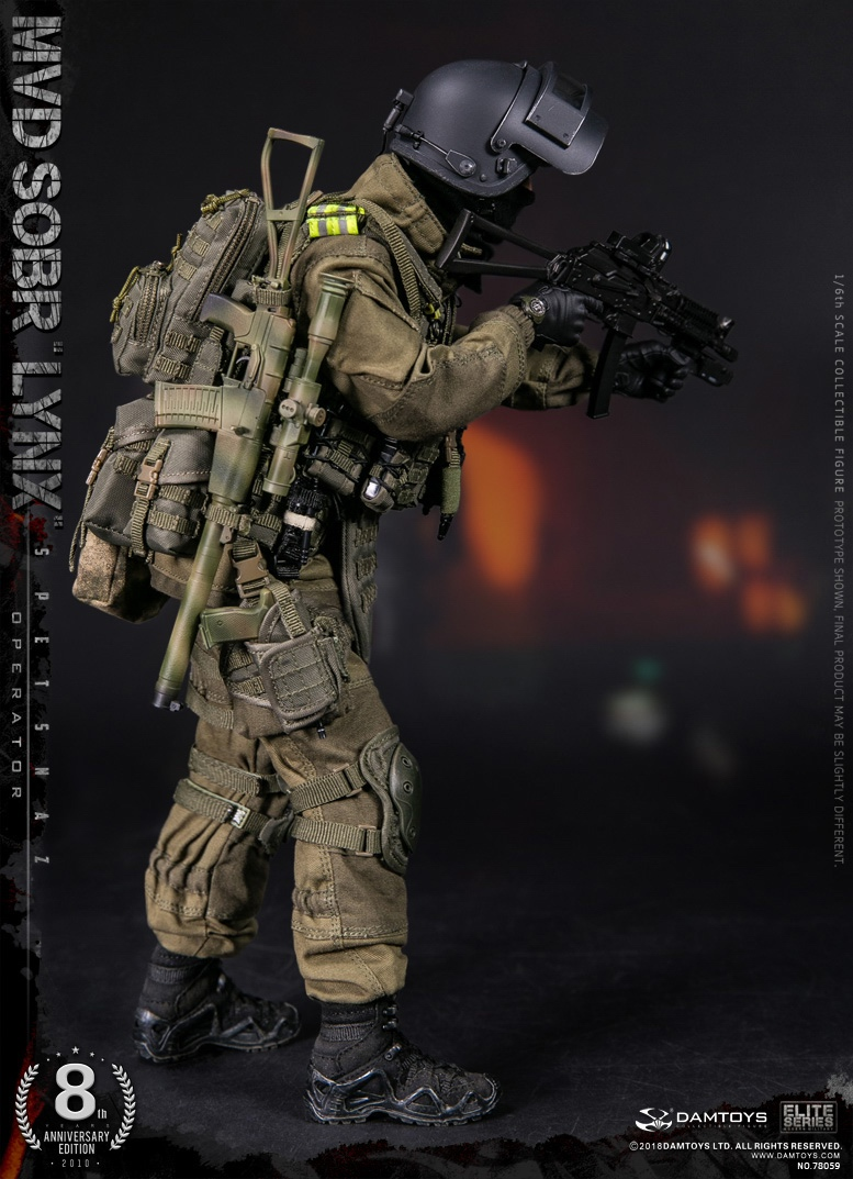 NEW PRODUCT:  DAMTOYS 8th Anniversary Edition: 1/6 RUSSIAN SPETSNAZ MVD SOBR LYNX (78059) 13433811