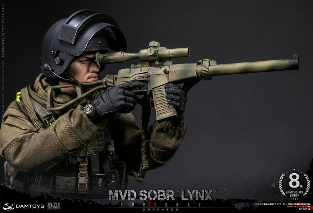 NEW PRODUCT:  DAMTOYS 8th Anniversary Edition: 1/6 RUSSIAN SPETSNAZ MVD SOBR LYNX (78059) 13434111