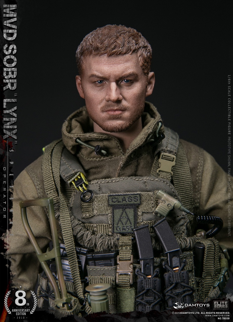 NEW PRODUCT:  DAMTOYS 8th Anniversary Edition: 1/6 RUSSIAN SPETSNAZ MVD SOBR LYNX (78059) 13522310