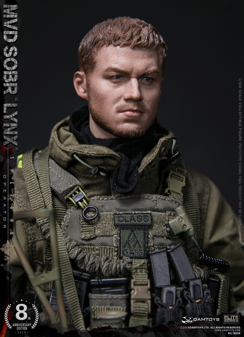 NEW PRODUCT:  DAMTOYS 8th Anniversary Edition: 1/6 RUSSIAN SPETSNAZ MVD SOBR LYNX (78059) 13522410