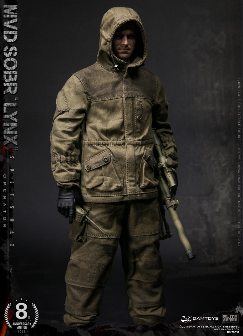NEW PRODUCT:  DAMTOYS 8th Anniversary Edition: 1/6 RUSSIAN SPETSNAZ MVD SOBR LYNX (78059) 13522510