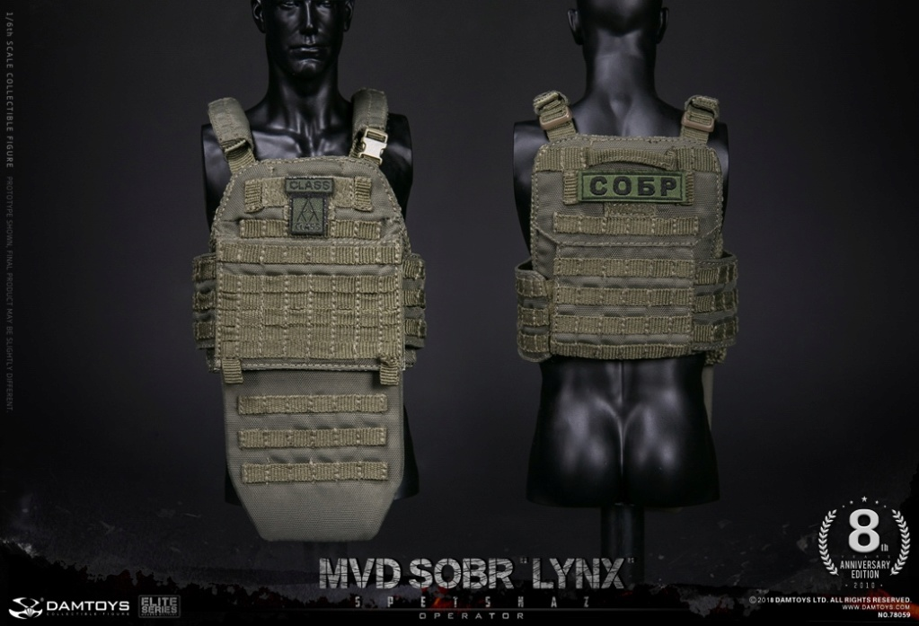 NEW PRODUCT:  DAMTOYS 8th Anniversary Edition: 1/6 RUSSIAN SPETSNAZ MVD SOBR LYNX (78059) 13523310