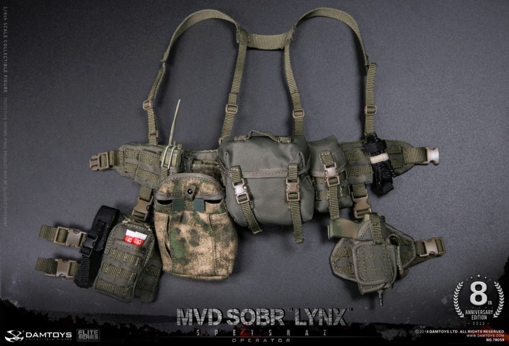 NEW PRODUCT:  DAMTOYS 8th Anniversary Edition: 1/6 RUSSIAN SPETSNAZ MVD SOBR LYNX (78059) 13523410