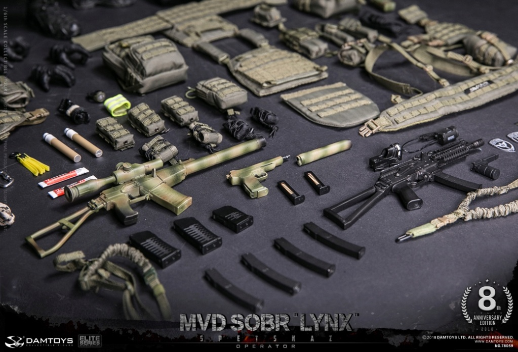 NEW PRODUCT:  DAMTOYS 8th Anniversary Edition: 1/6 RUSSIAN SPETSNAZ MVD SOBR LYNX (78059) 13523510