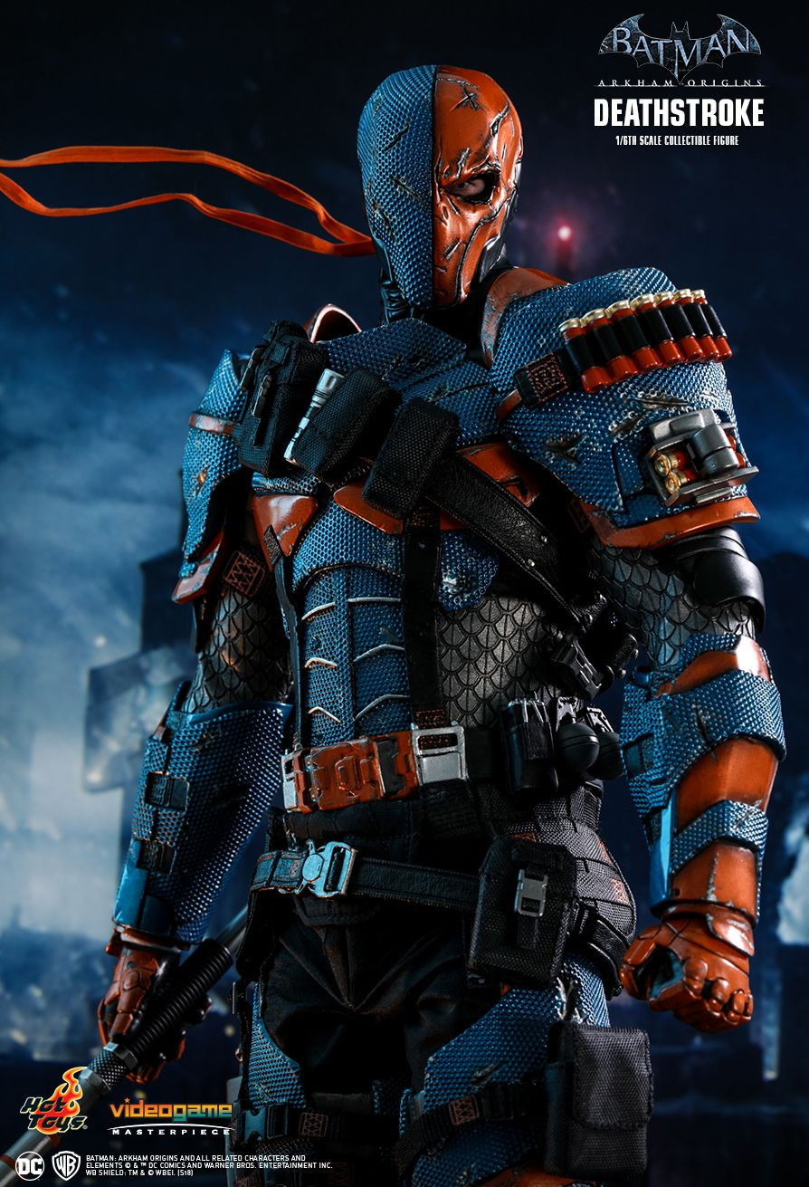 Batman - NEW PRODUCT: HOT TOYS: BATMAN: ARKHAM ORIGINS DEATHSTROKE 1/6TH SCALE COLLECTIBLE FIGURE 136