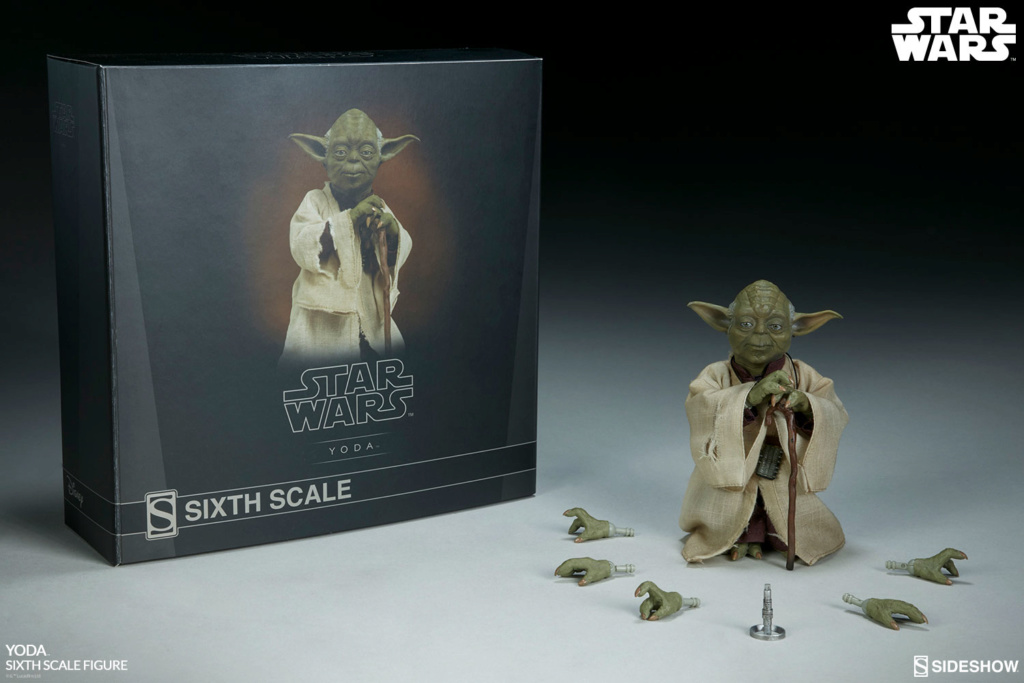 esb - NEW PRODUCT: SIDESHOW COLLECTIBLES: THE EMPIRE STRIKES BACK YODA 1/6 SCALE FIGURE 1364