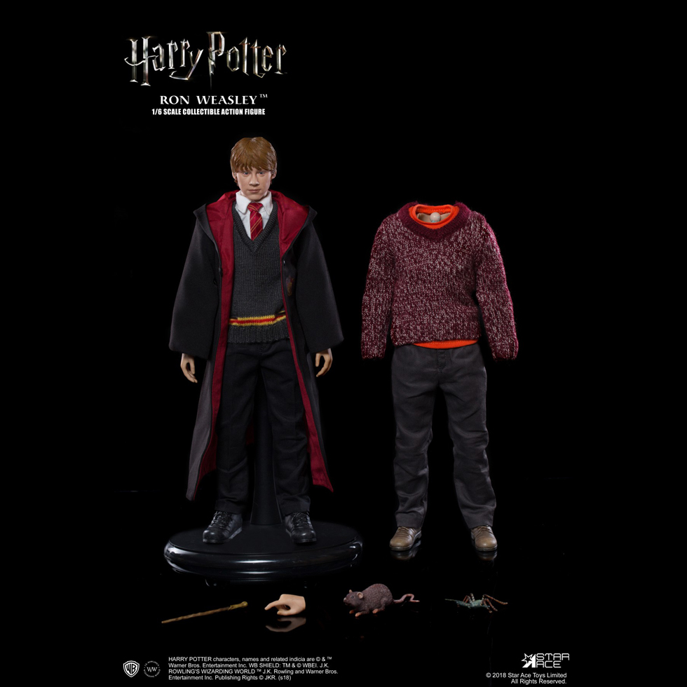 harrypotter - NEW PRODUCT: Star Ace 1/6 Harry Potter Ron Weasley Teenage Version Figure (SA-0059) 1367