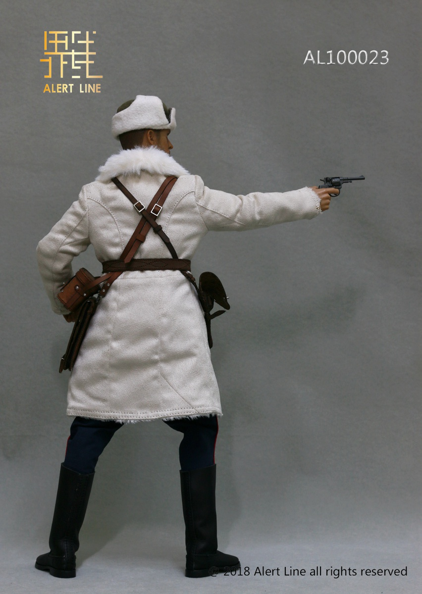 Soviet - NEW PRODUCT: Alert Line boundary play mode: 1/6 World War II 1942 - Soviet Red Army infantry lieutenant officer set (AL100023#) 1369