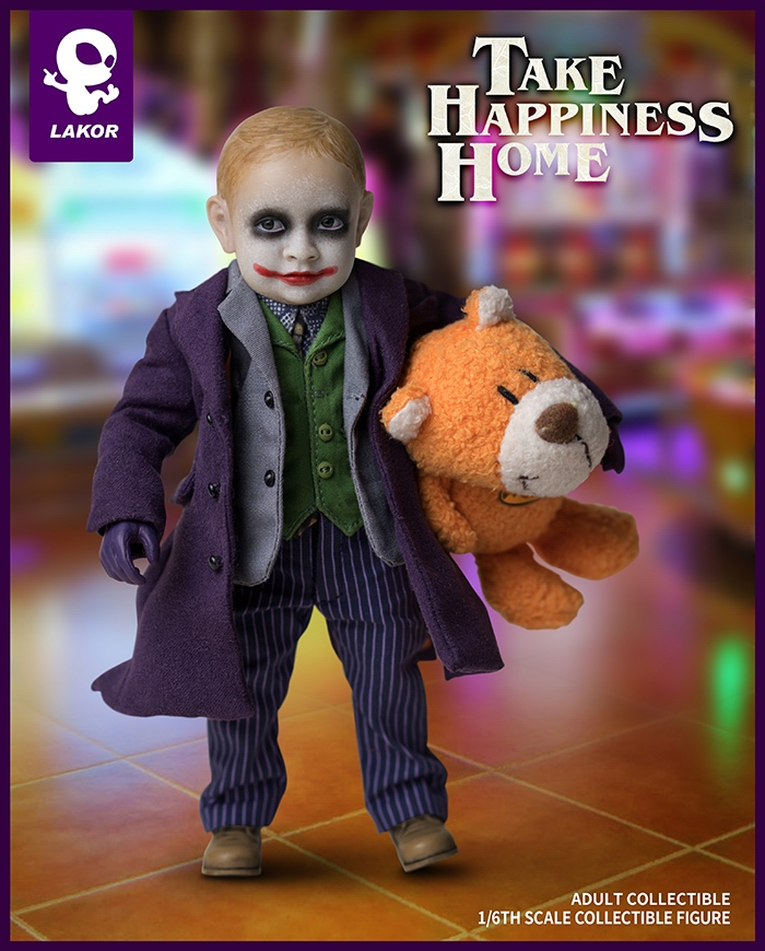 Joker - NEW PRODUCT: Lakor Baby: 1 / 6th scale Take Happiness Home - JOKER Baby 2.0 Collectible Figure 141