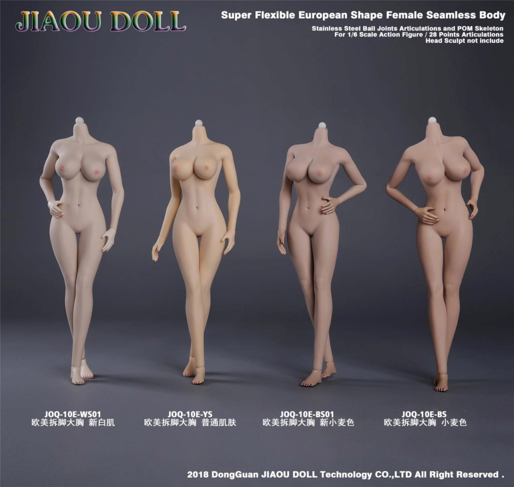 body - NEW PRODUCT: JIAOU DOLL 1/6 European Shape Female Nude Body Action Figure (possibly NSFW) 143