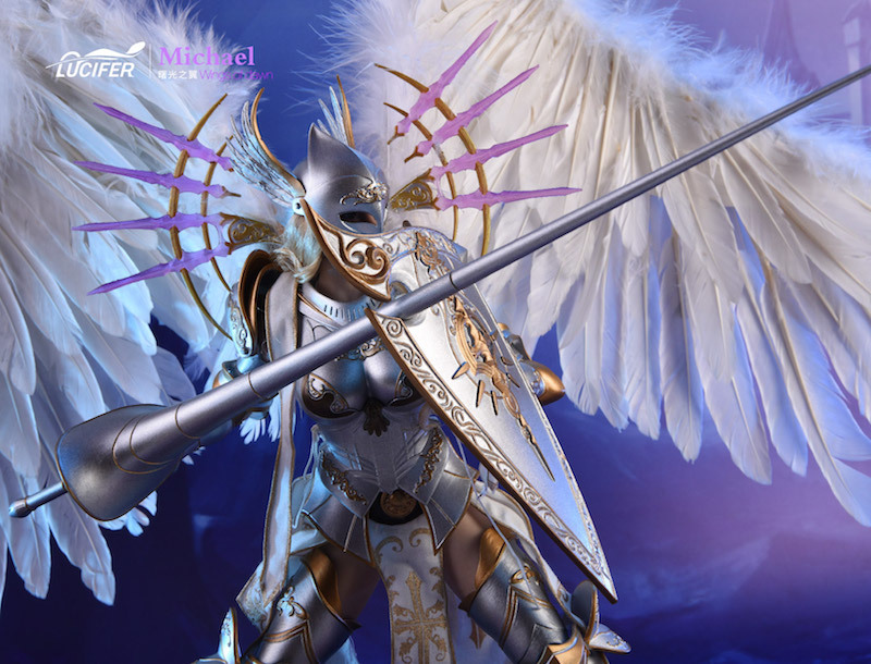 NEW PRODUCT: Lucifer Wings of Dawn Swordsman Version [LXF-1703S] & Big Angels Version [LXF-1703B] 1:6 Figure 1432