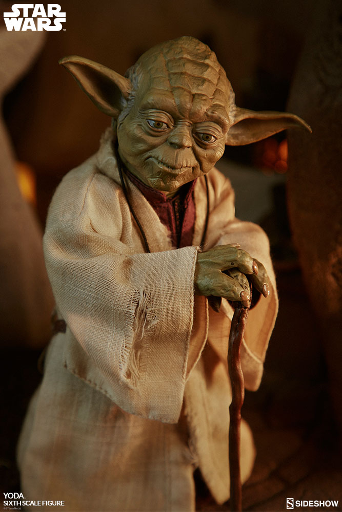 esb - NEW PRODUCT: SIDESHOW COLLECTIBLES: THE EMPIRE STRIKES BACK YODA 1/6 SCALE FIGURE 1456