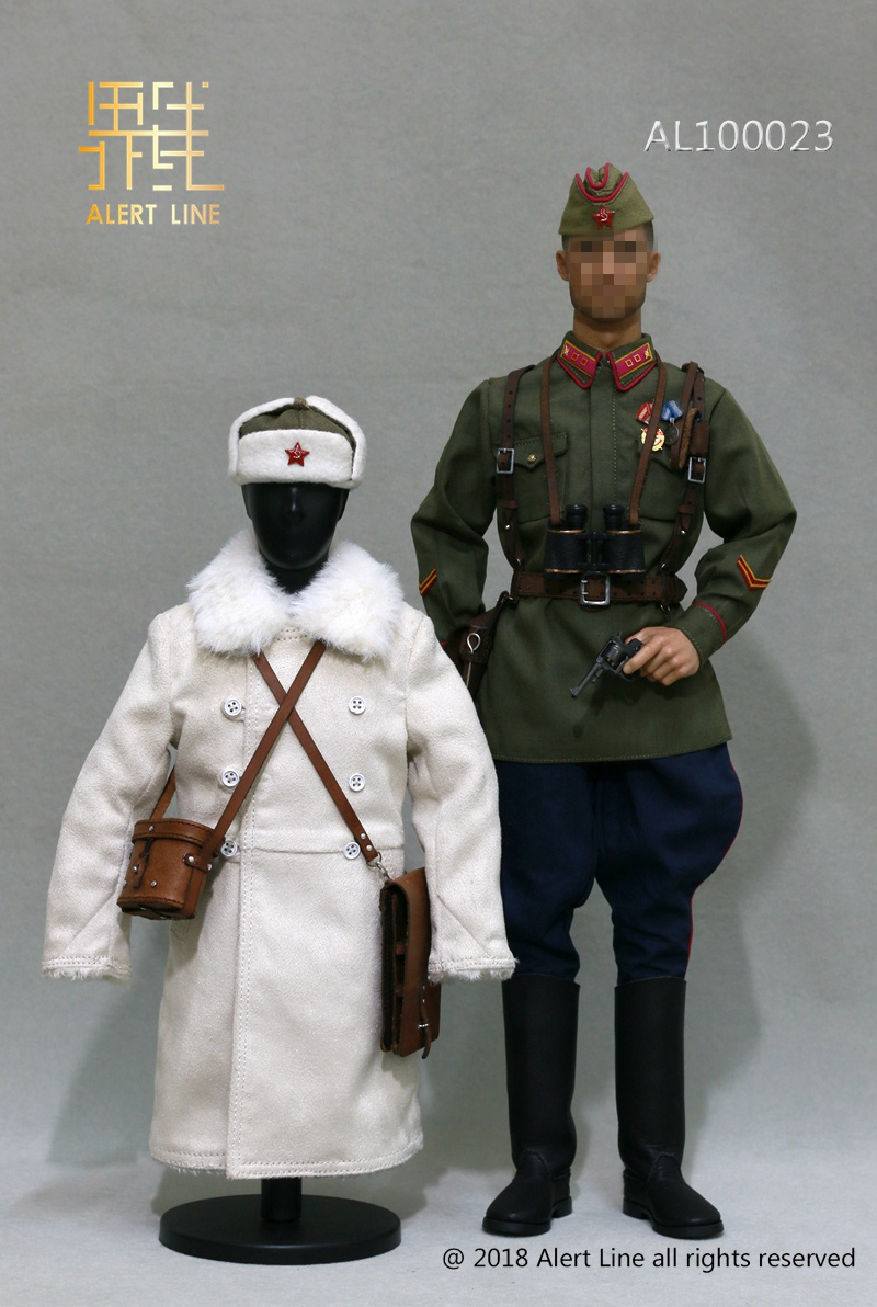 Soviet - NEW PRODUCT: Alert Line boundary play mode: 1/6 World War II 1942 - Soviet Red Army infantry lieutenant officer set (AL100023#) 1460