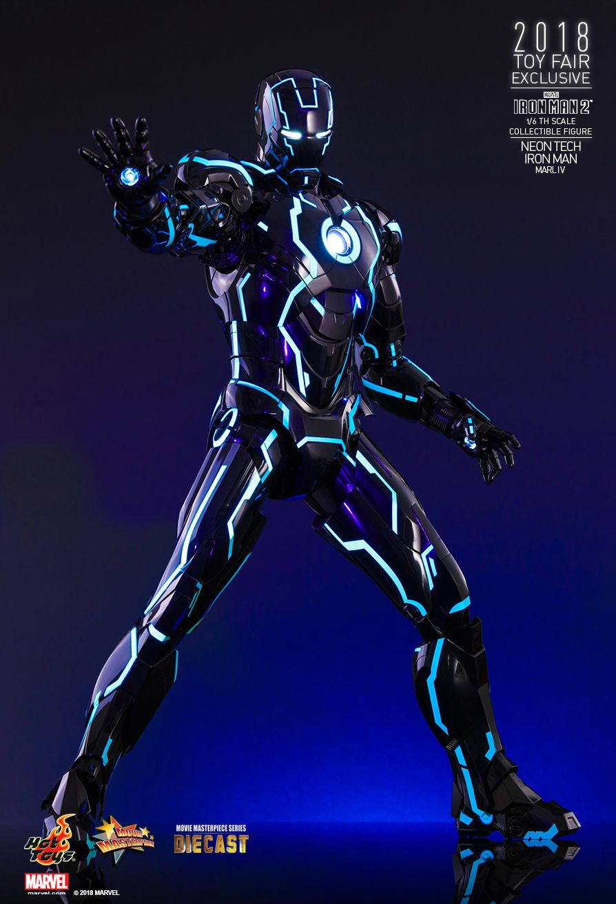 IronMan - NEW PRODUCT: IRON MAN 2 NEON TECH IRON MAN MARK IV 1/6TH SCALE COLLECTIBLE FIGURE 1520