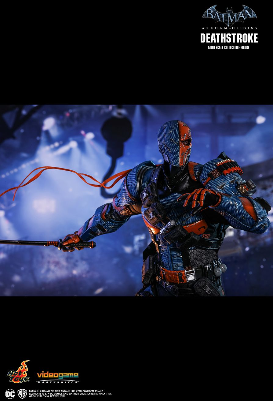 Batman - NEW PRODUCT: HOT TOYS: BATMAN: ARKHAM ORIGINS DEATHSTROKE 1/6TH SCALE COLLECTIBLE FIGURE 1522