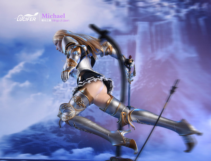 NEW PRODUCT: Lucifer Wings of Dawn Swordsman Version [LXF-1703S] & Big Angels Version [LXF-1703B] 1:6 Figure 1528