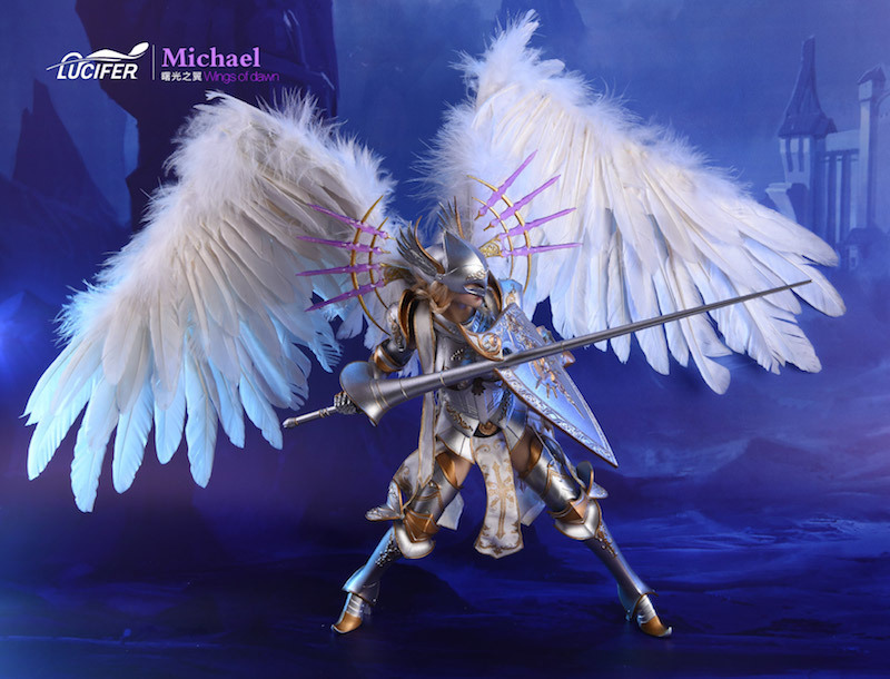 NEW PRODUCT: Lucifer Wings of Dawn Swordsman Version [LXF-1703S] & Big Angels Version [LXF-1703B] 1:6 Figure 1529