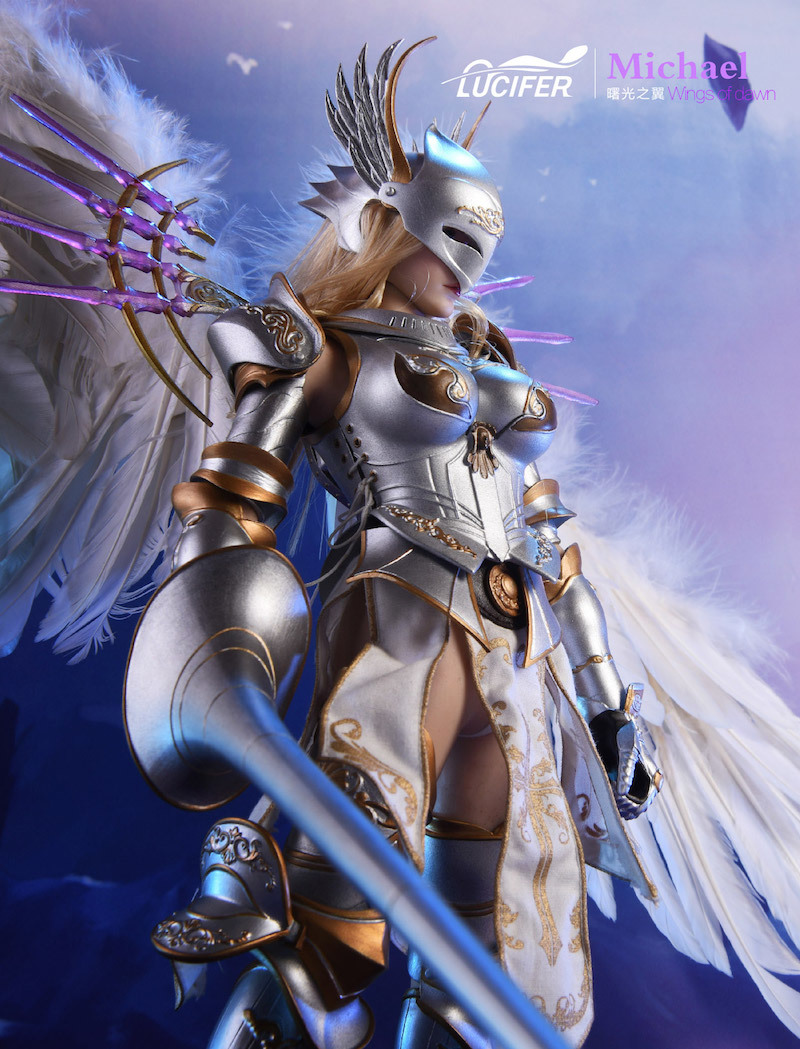 NEW PRODUCT: Lucifer Wings of Dawn Swordsman Version [LXF-1703S] & Big Angels Version [LXF-1703B] 1:6 Figure 153