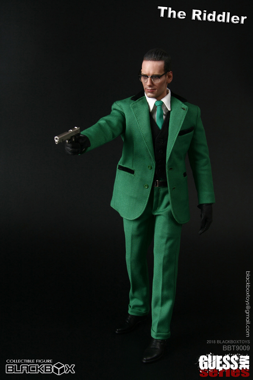 "NEW PRODUCT: black box toy BLACKBOX New product: 1/6 Who am I series 09 - ""Ridden people"" Movable 15372410"
