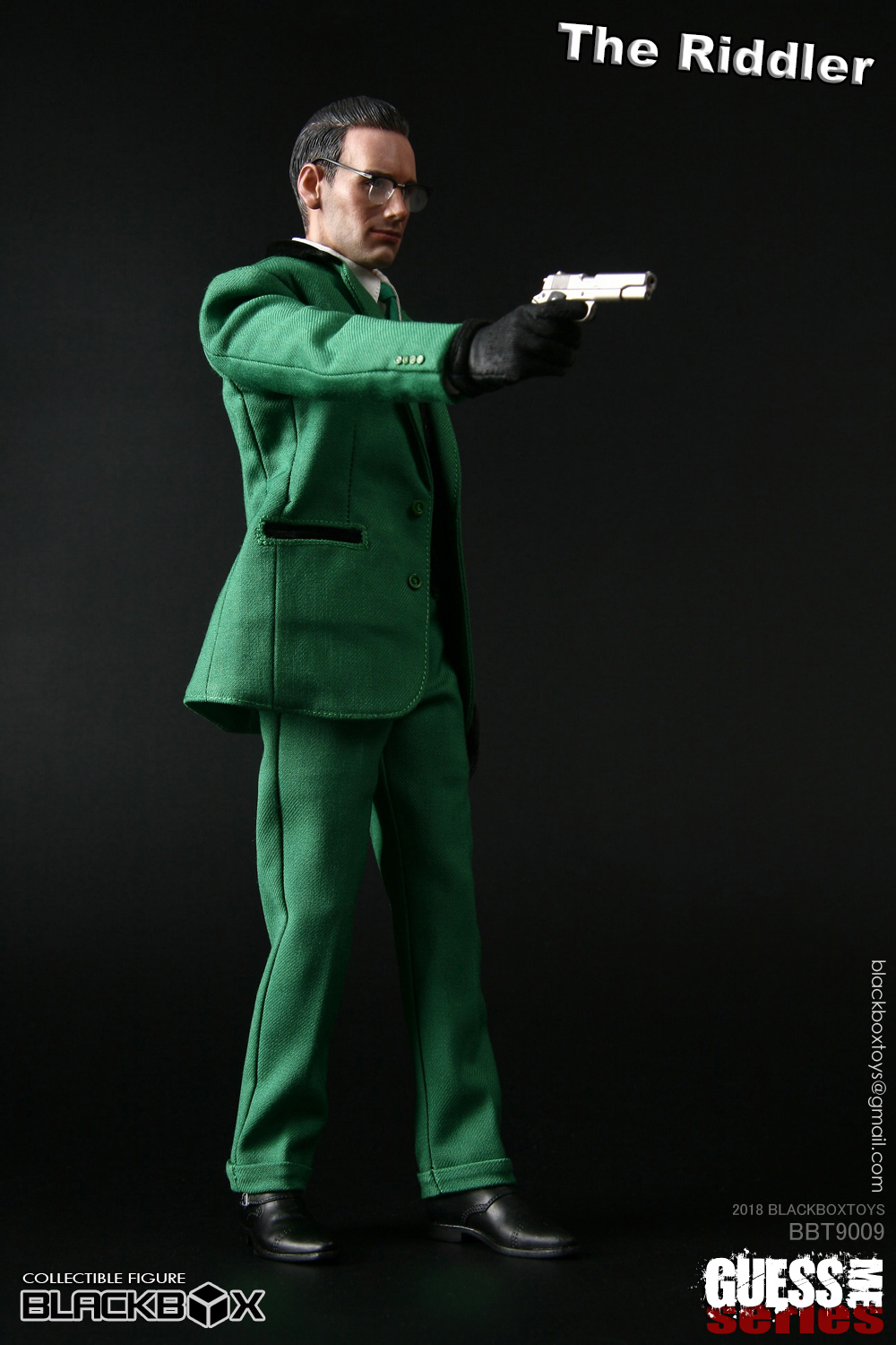 "NEW PRODUCT: black box toy BLACKBOX New product: 1/6 Who am I series 09 - ""Ridden people"" Movable 15372610"