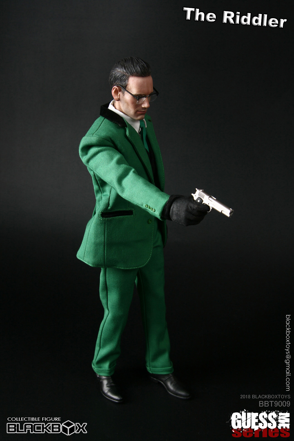 "NEW PRODUCT: black box toy BLACKBOX New product: 1/6 Who am I series 09 - ""Ridden people"" Movable 15373210"