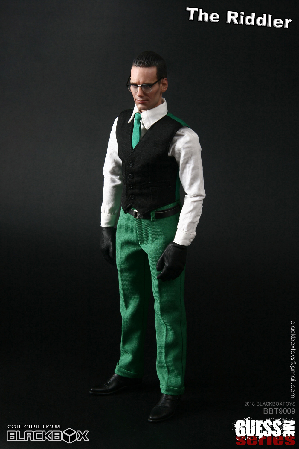 "NEW PRODUCT: black box toy BLACKBOX New product: 1/6 Who am I series 09 - ""Ridden people"" Movable 15374710"