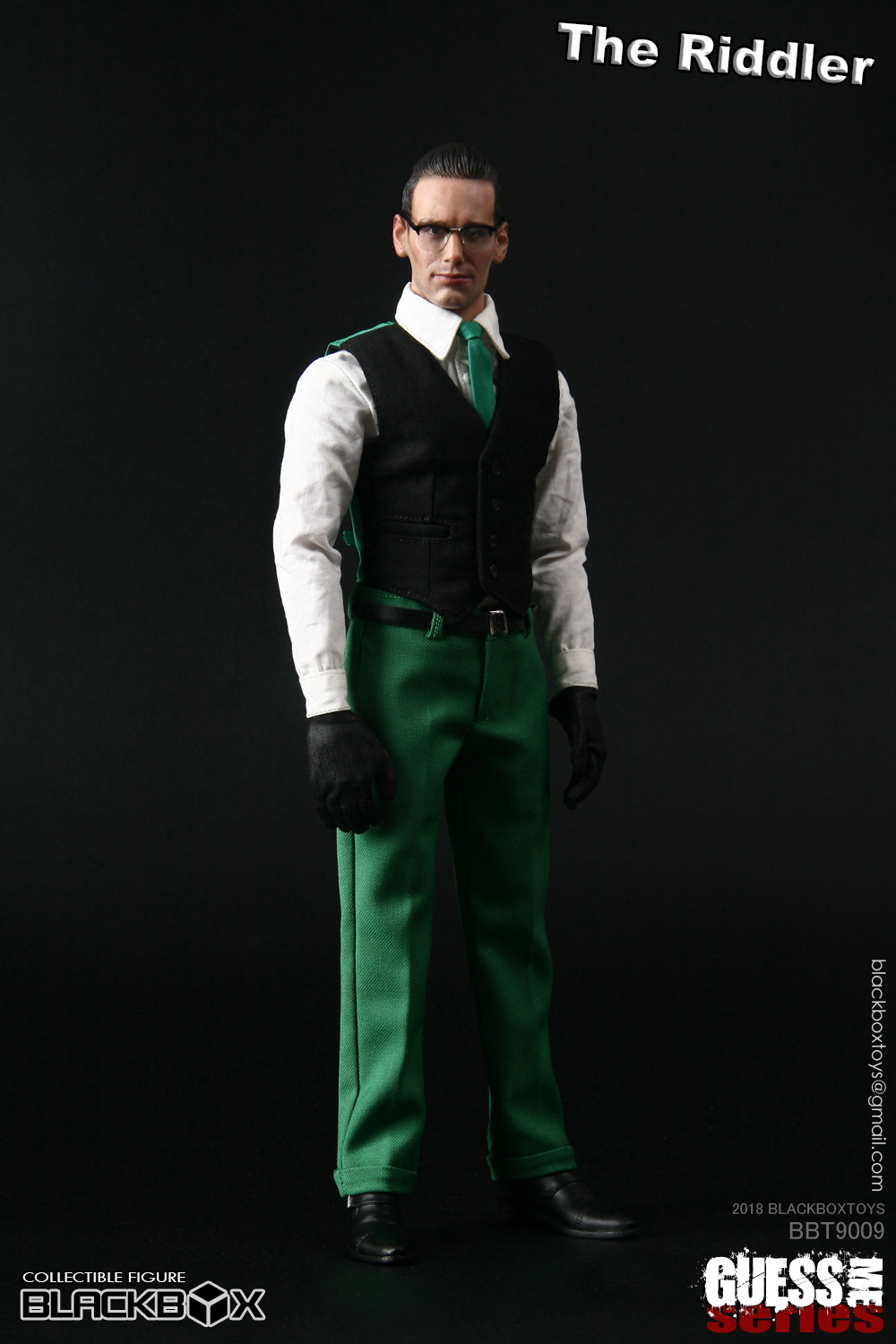 "NEW PRODUCT: black box toy BLACKBOX New product: 1/6 Who am I series 09 - ""Ridden people"" Movable 15375910"