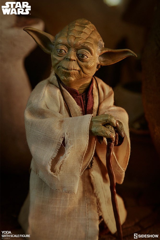 esb - NEW PRODUCT: SIDESHOW COLLECTIBLES: THE EMPIRE STRIKES BACK YODA 1/6 SCALE FIGURE 1551
