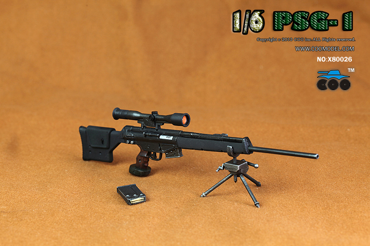 CooModel - NEW PRODUCT:  COOMODEL: 1/6 M700PSS Sniper Rifle X2 & PSG1 Sniper Rifle 1555