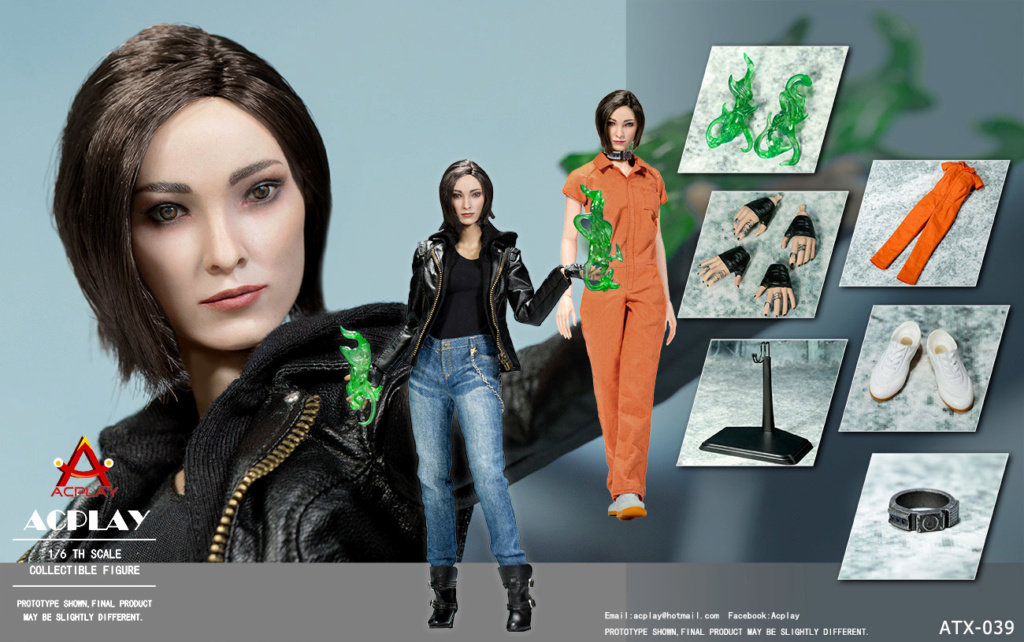 XMen - NEW PRODUCT: ACPlay new product: 1/6 ATX039 super hero magnetic girl box doll 1557