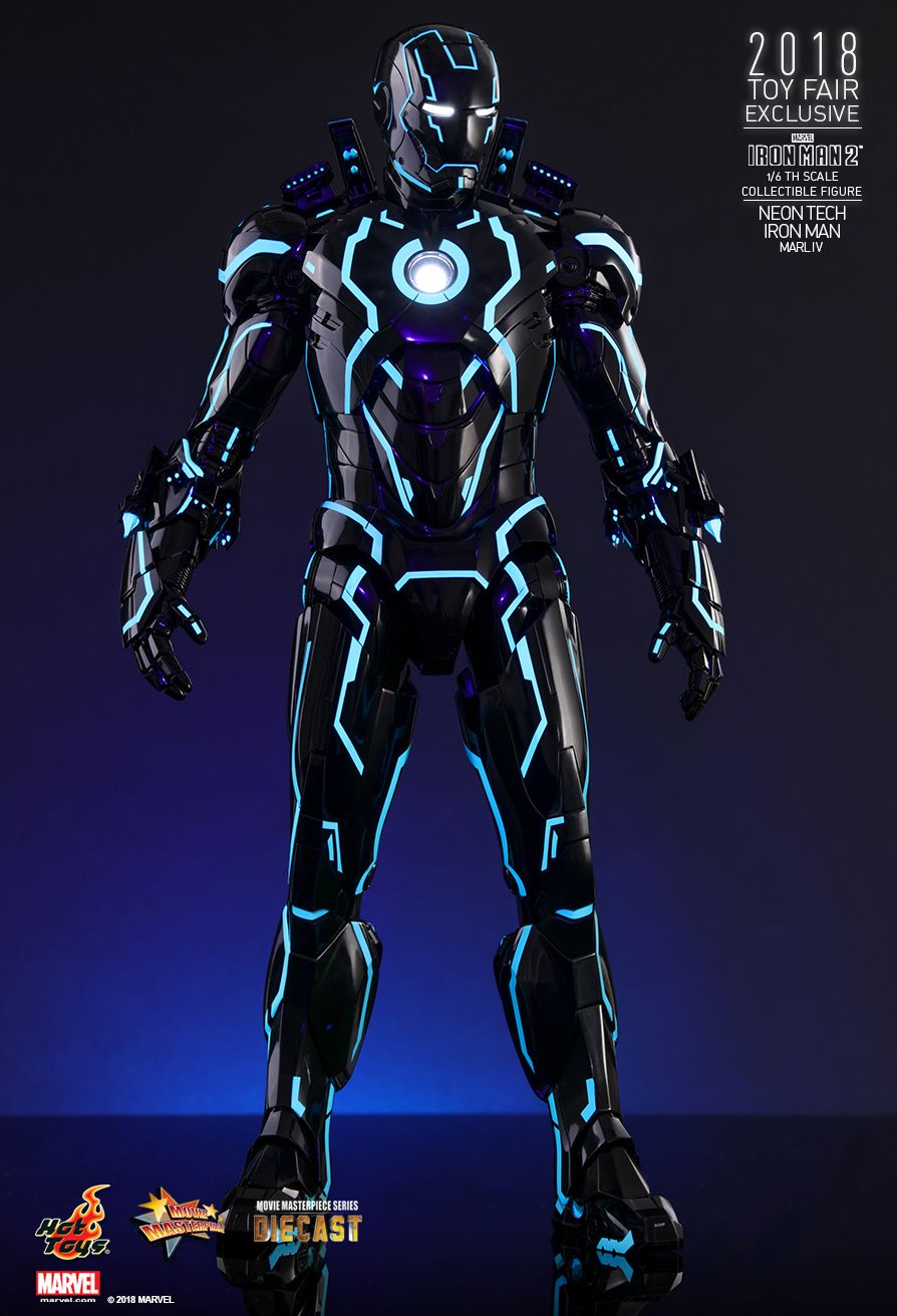 IronMan - NEW PRODUCT: IRON MAN 2 NEON TECH IRON MAN MARK IV 1/6TH SCALE COLLECTIBLE FIGURE 1619