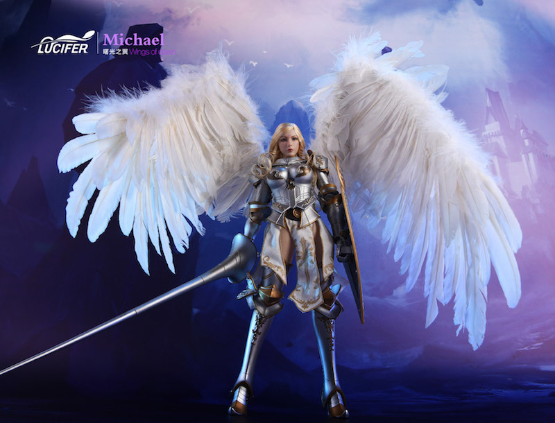 NEW PRODUCT: Lucifer Wings of Dawn Swordsman Version [LXF-1703S] & Big Angels Version [LXF-1703B] 1:6 Figure 1627