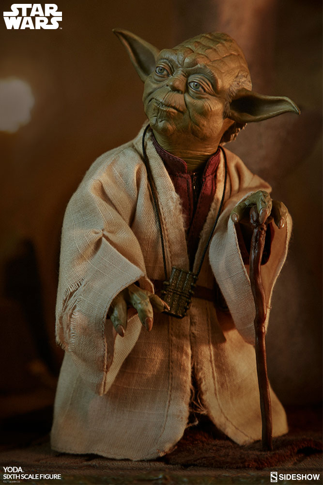 esb - NEW PRODUCT: SIDESHOW COLLECTIBLES: THE EMPIRE STRIKES BACK YODA 1/6 SCALE FIGURE 1649