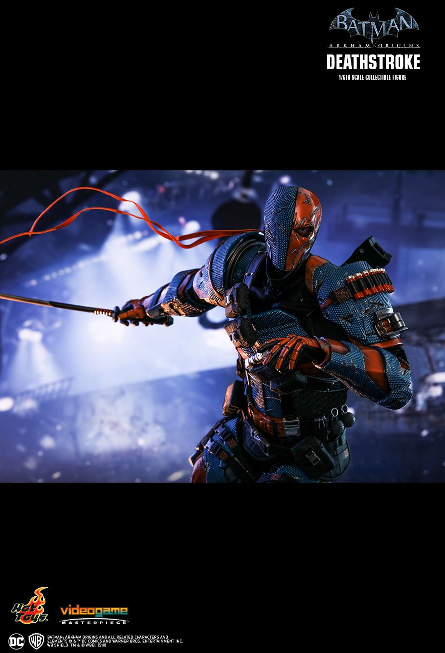 Batman - NEW PRODUCT: HOT TOYS: BATMAN: ARKHAM ORIGINS DEATHSTROKE 1/6TH SCALE COLLECTIBLE FIGURE 1717