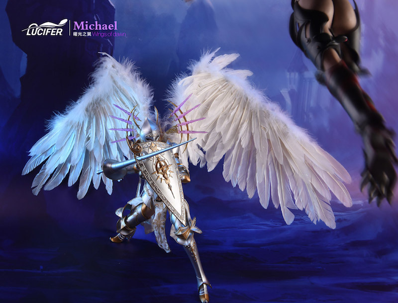 NEW PRODUCT: Lucifer Wings of Dawn Swordsman Version [LXF-1703S] & Big Angels Version [LXF-1703B] 1:6 Figure 1723