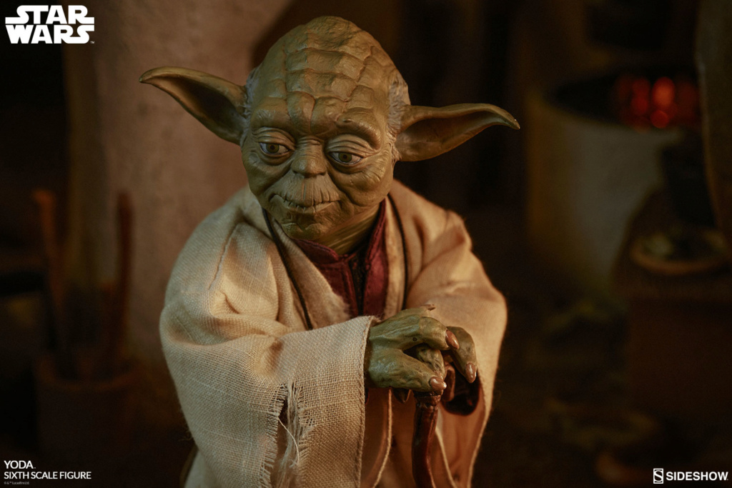 esb - NEW PRODUCT: SIDESHOW COLLECTIBLES: THE EMPIRE STRIKES BACK YODA 1/6 SCALE FIGURE 1743