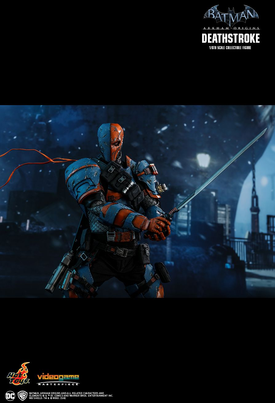 Batman - NEW PRODUCT: HOT TOYS: BATMAN: ARKHAM ORIGINS DEATHSTROKE 1/6TH SCALE COLLECTIBLE FIGURE 1817
