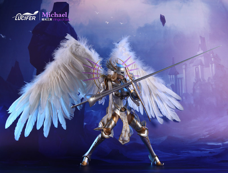 NEW PRODUCT: Lucifer Wings of Dawn Swordsman Version [LXF-1703S] & Big Angels Version [LXF-1703B] 1:6 Figure 1823