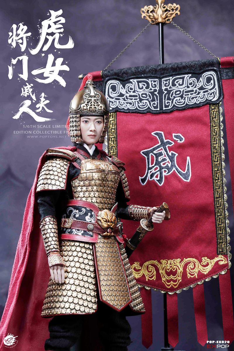 warrior - NEW PRODUCT: POPTOYS 1/6 EX020 - Heroine Mrs.Q 19132010