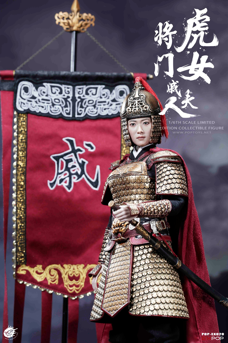 warrior - NEW PRODUCT: POPTOYS 1/6 EX020 - Heroine Mrs.Q 19132110