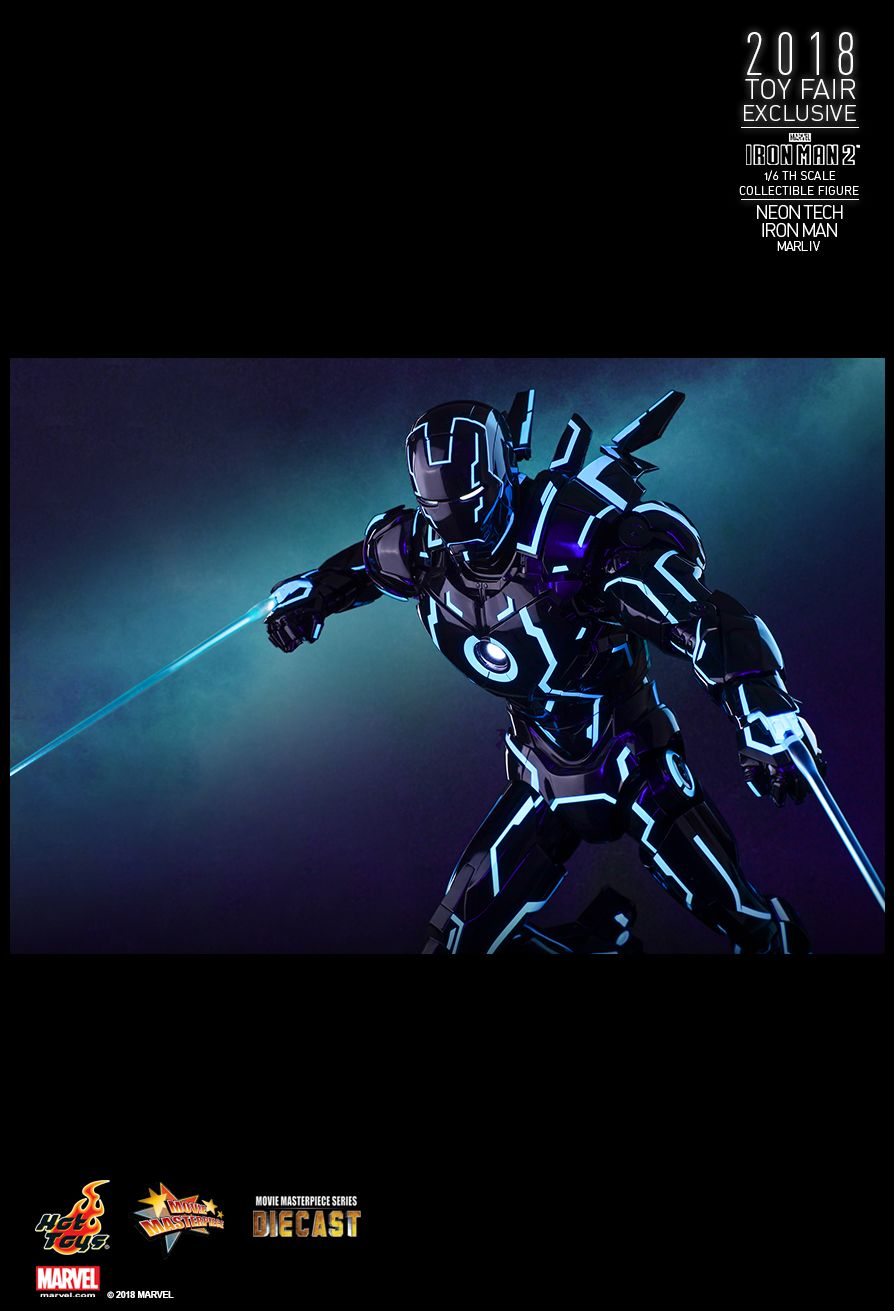 IronMan - NEW PRODUCT: IRON MAN 2 NEON TECH IRON MAN MARK IV 1/6TH SCALE COLLECTIBLE FIGURE 1916