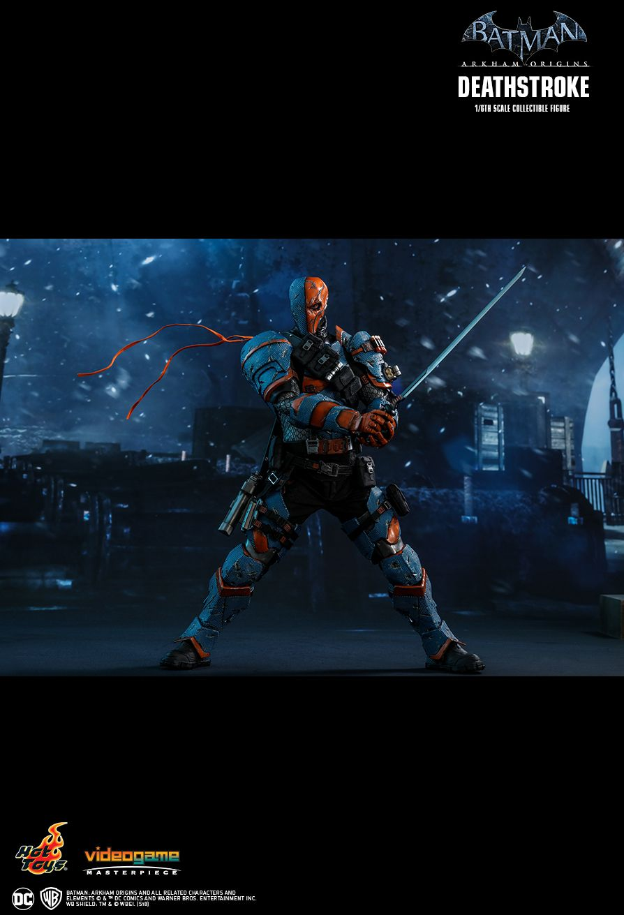 Batman - NEW PRODUCT: HOT TOYS: BATMAN: ARKHAM ORIGINS DEATHSTROKE 1/6TH SCALE COLLECTIBLE FIGURE 1917