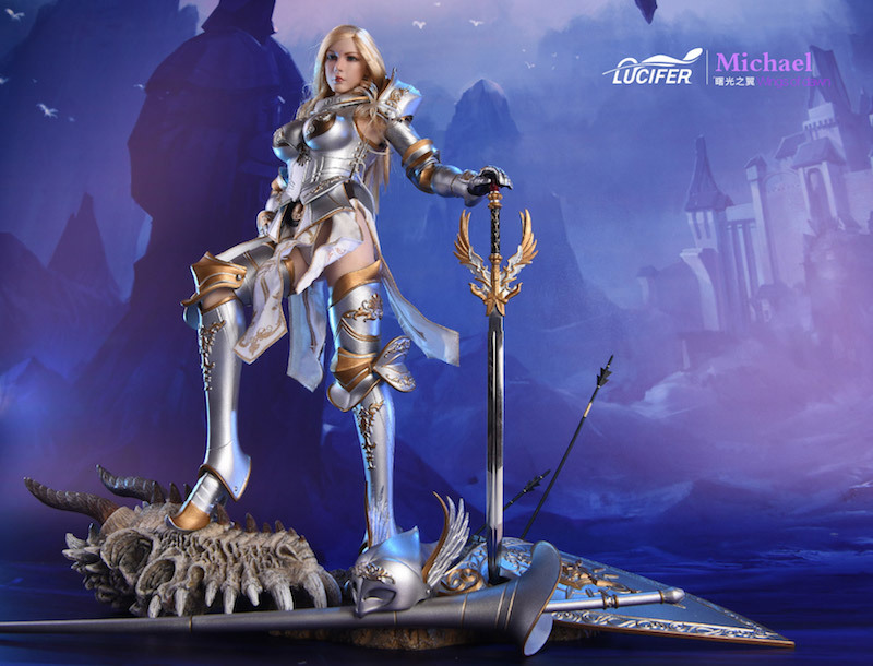 NEW PRODUCT: Lucifer Wings of Dawn Swordsman Version [LXF-1703S] & Big Angels Version [LXF-1703B] 1:6 Figure 1922