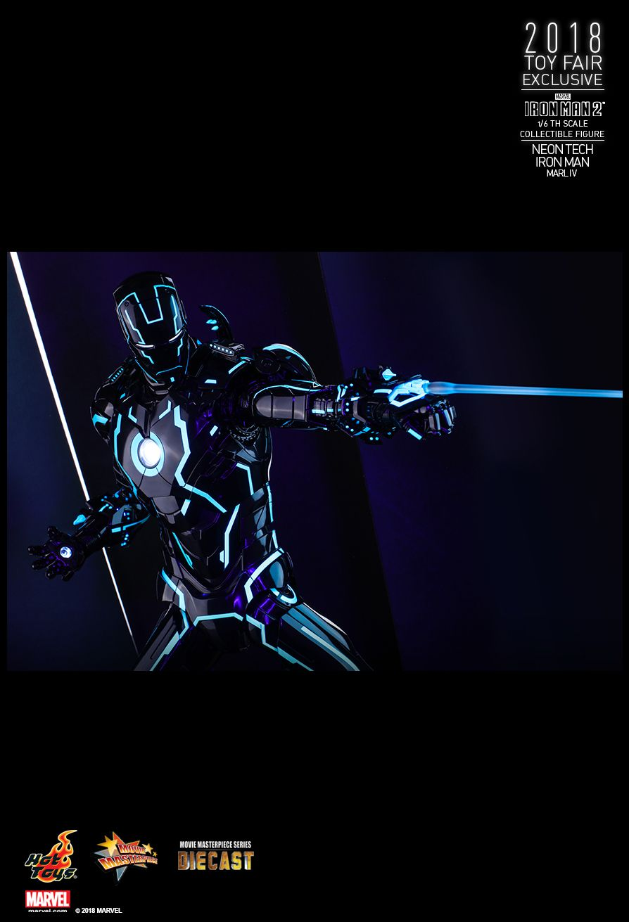 IronMan - NEW PRODUCT: IRON MAN 2 NEON TECH IRON MAN MARK IV 1/6TH SCALE COLLECTIBLE FIGURE 2015