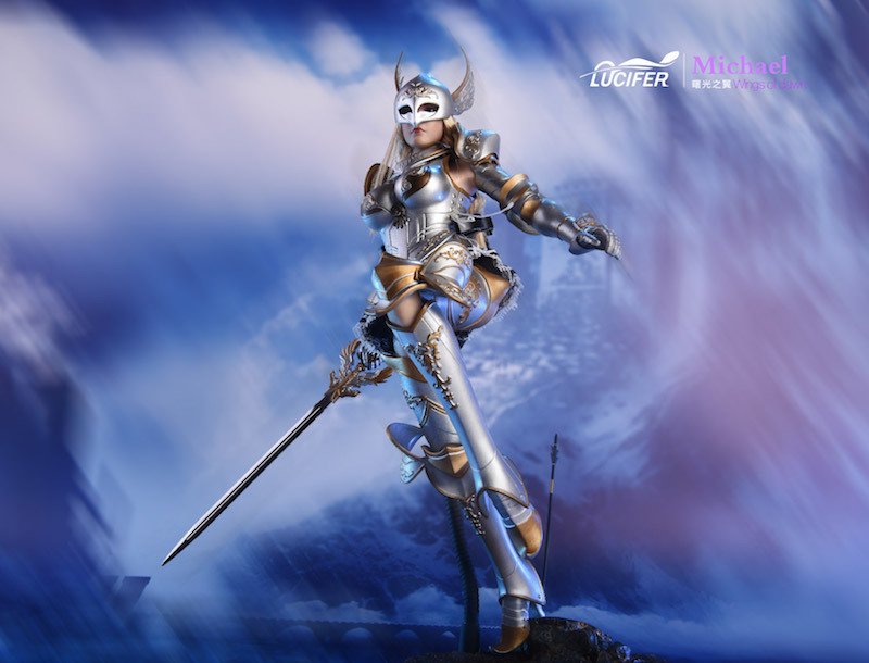 NEW PRODUCT: Lucifer Wings of Dawn Swordsman Version [LXF-1703S] & Big Angels Version [LXF-1703B] 1:6 Figure 2021