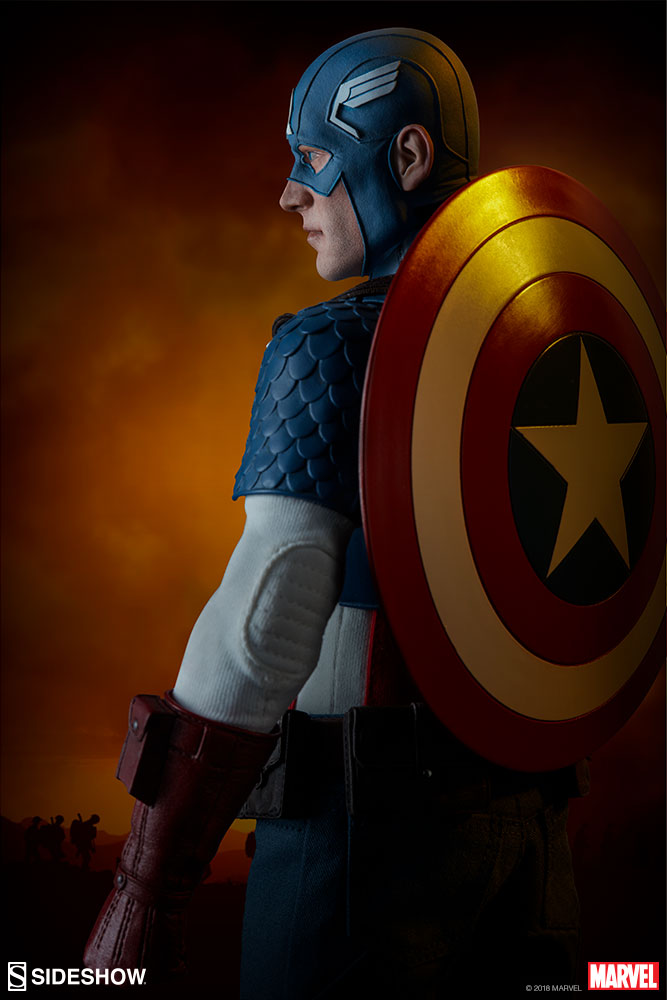 captainamerica - NEW PRODUCT: SIDESHOW COLLECTIBLES: CAPTAIN AMERICA 1/6 SCALE FIGURE 2030