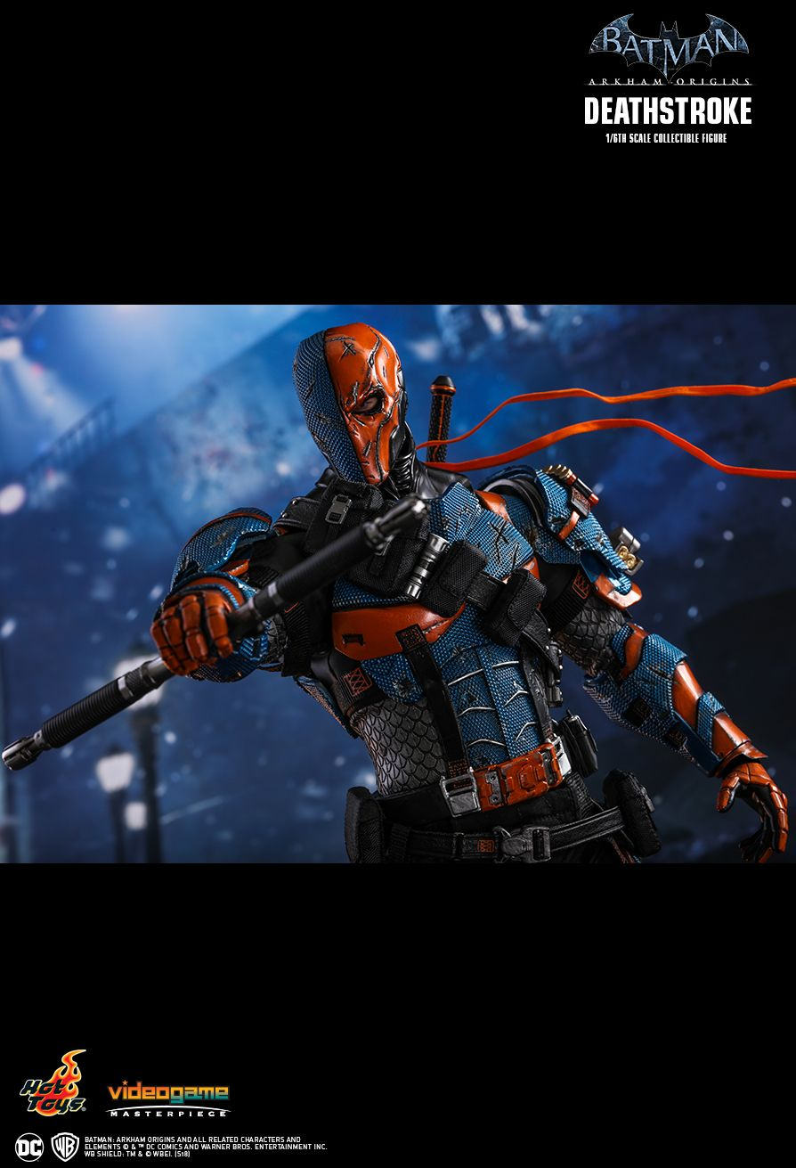 Batman - NEW PRODUCT: HOT TOYS: BATMAN: ARKHAM ORIGINS DEATHSTROKE 1/6TH SCALE COLLECTIBLE FIGURE 2115