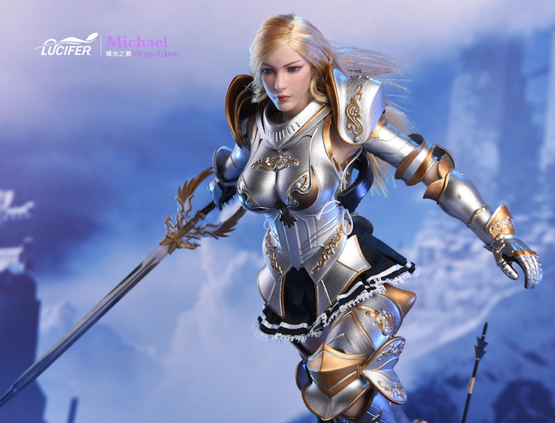 NEW PRODUCT: Lucifer Wings of Dawn Swordsman Version [LXF-1703S] & Big Angels Version [LXF-1703B] 1:6 Figure 2120